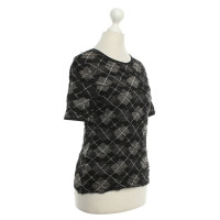 Wolford top with check pattern