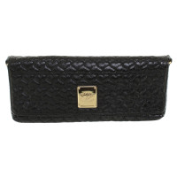 Blumarine clutch in black