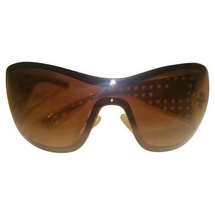 Christian Dior Sonnenbrille mit Flecht-Muster