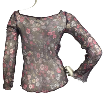 Max & Co Silk blouse with a floral pattern