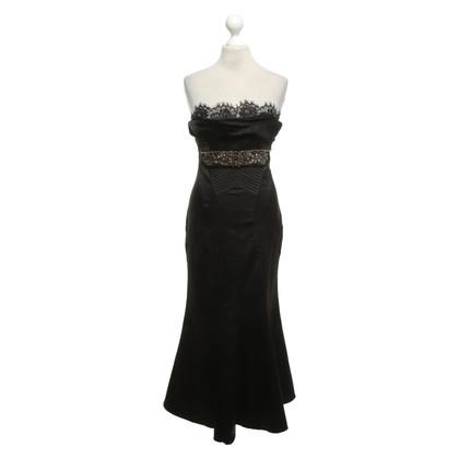 Karen Millen Bandeau dress in black