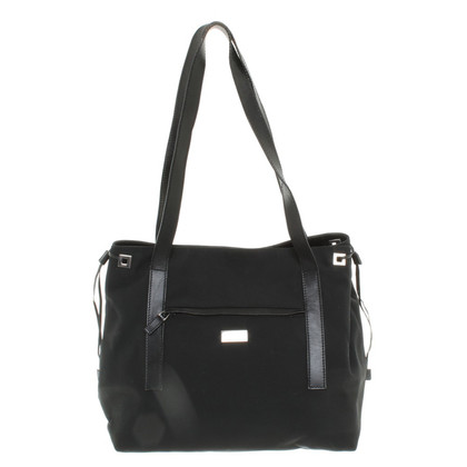 Gucci Nylon shopper in nero