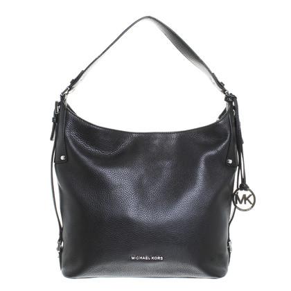michael kors tasche bedford belted lg shoulder bag black. Black Bedroom Furniture Sets. Home Design Ideas