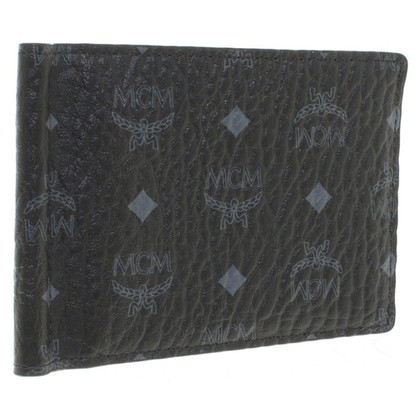 MCM ''Heritage Money Clip'' in Schwarz