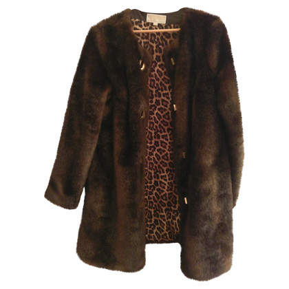 Michael Kors new faux fur coat