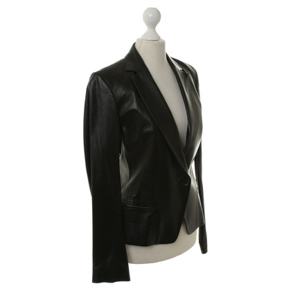 Donna Karan Lamb leather Blazer