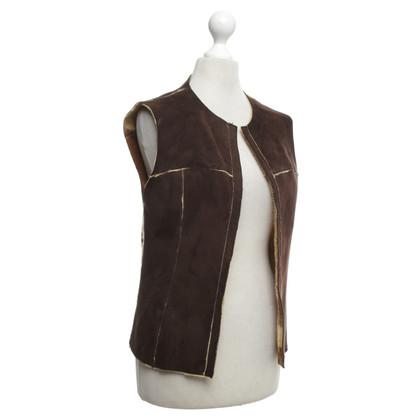 Mabrun Leather vest