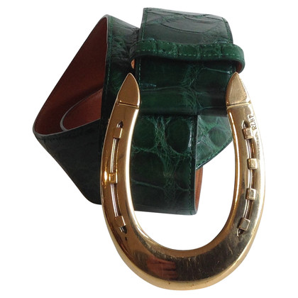 Ralph Lauren Reptile leather belt