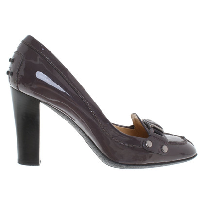 Tod's pumps in patent leather