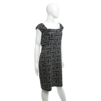 Calvin Klein Dress in grey / black