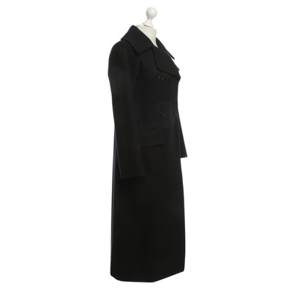 Jil Sander Wool coat in black