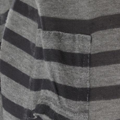 mit Bunt T Shirt by T Alexander Kleid Streifenmuster Wang Muster Ffq8F