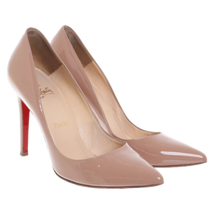 Christian Louboutin Stiletto's in nude