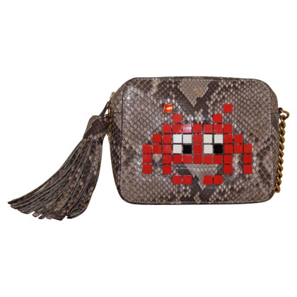"Anya Hindmarch ""Space Invaders Crossbody Bag"""