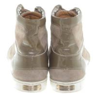 Jimmy Choo High-Top-Sneakers in Khaki