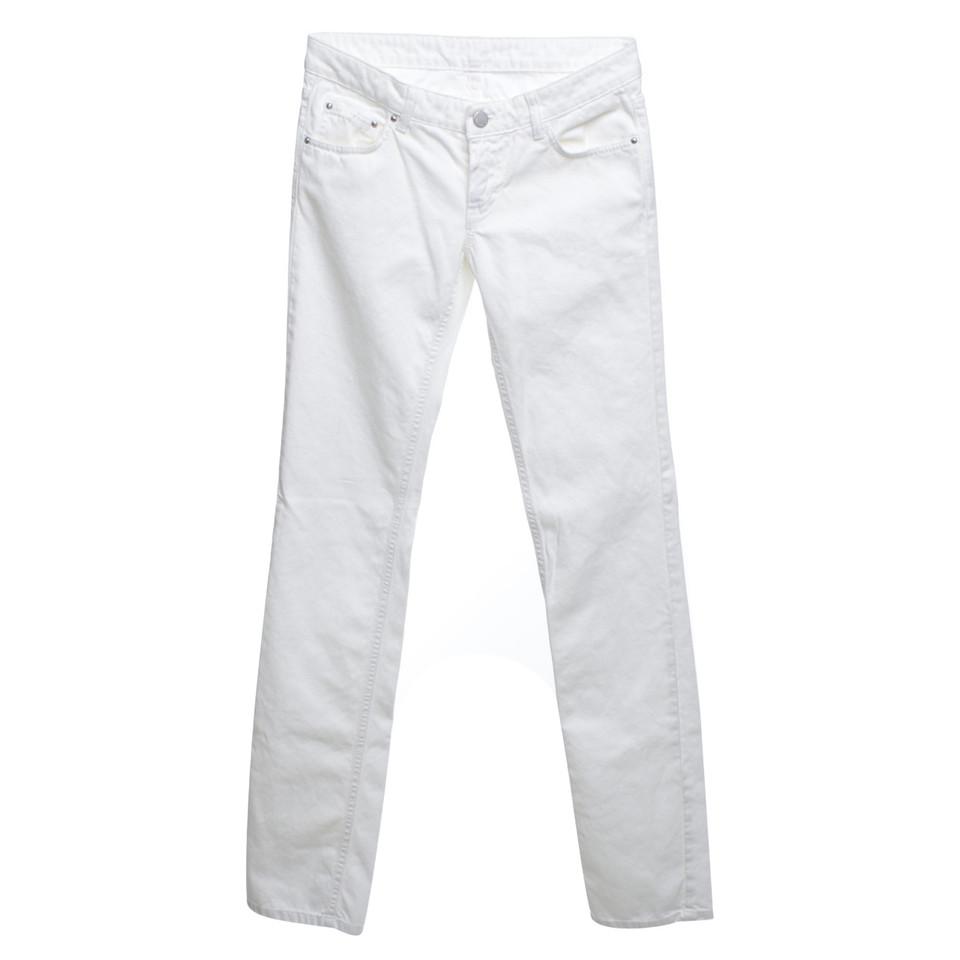 Fendi Jeans in White