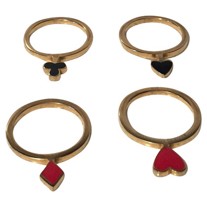 Moschino Cheap and Chic 4-Ring-Set