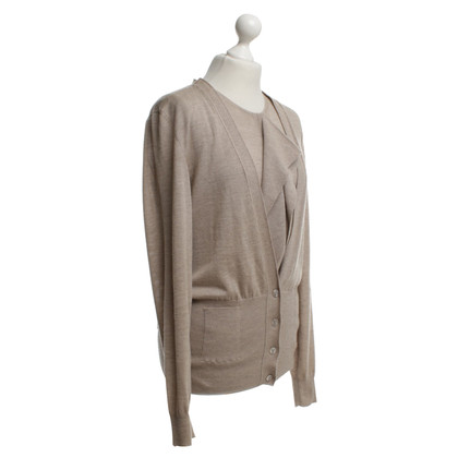 Hermès Twin-Set aus Feinstrick