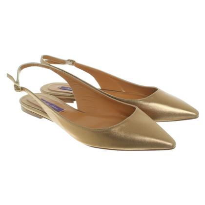 Ralph Lauren Golden slippers