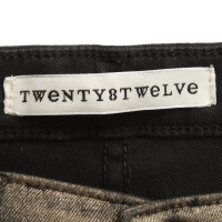 Twenty8Twelve Jeans with gold plating
