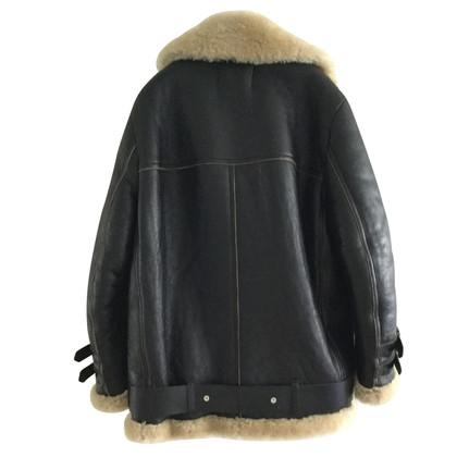 Acne Jacke aus Lammfell