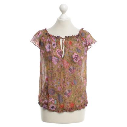 Bellerose Bluse mit floralem Print