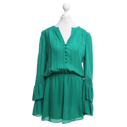 Parker Silk dress in green