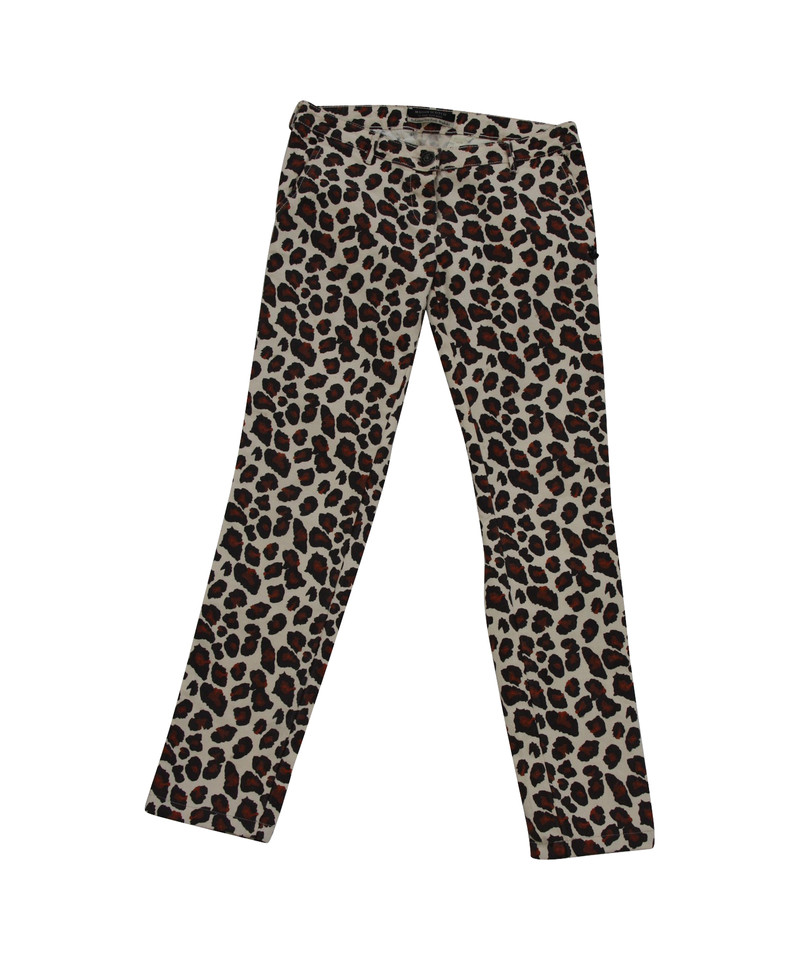 Super Maison Scotch Jeans with leopard pattern - Buy Second hand Maison  DW15