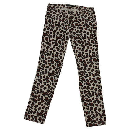 Maison Scotch Jeans with leopard pattern