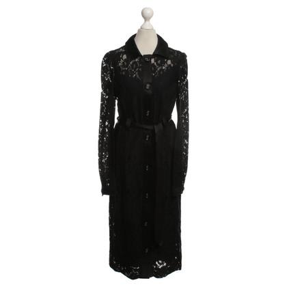 Dolce & Gabbana Kant jurk in zwart
