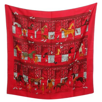 Hermès Silk scarf with print