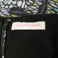 Matthew Williamson Seidenkleid mit buntem Muster