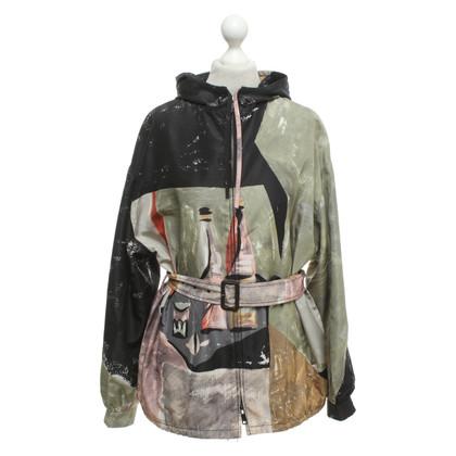 Prada Oversized jacket in silk