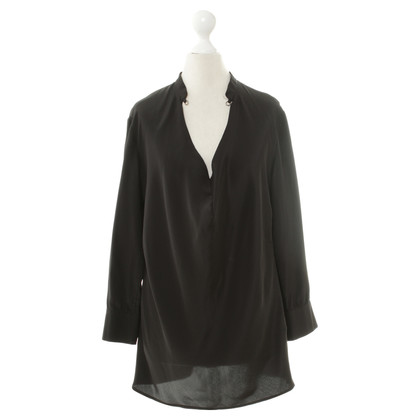 Drykorn Silk blouse in black