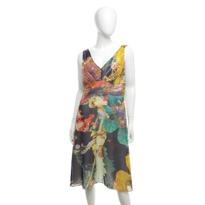 Strenesse Silk dress in multicolor