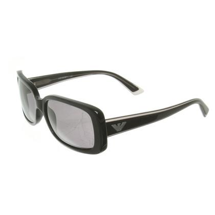 Armani Zonnebril in zwart