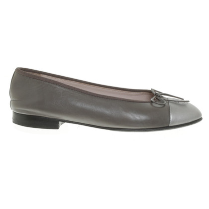 Chanel Ballerinas in taupe
