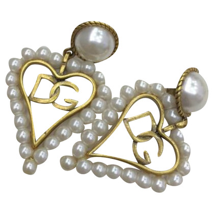 Dolce & Gabbana Studs with a heart