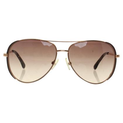 Michael Kors Goudkleurige zonnebril
