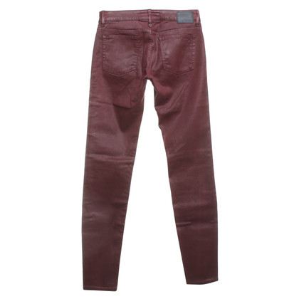 Drykorn Skinny-Jeans in Weinrot