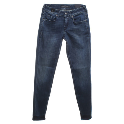 Drykorn Skinny fit jeans in donkerblauw
