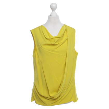 Diane von Furstenberg Silk top yellow