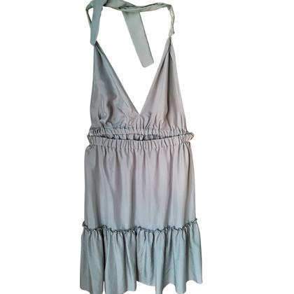 Parosh Silk dress with application