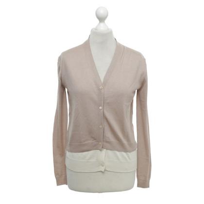 Miu Miu Vest in beige / crème wit