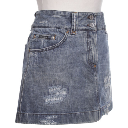 D&G Denim skirt in blue