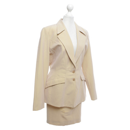 Mugler Costume in beige