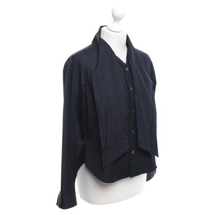 Yohji Yamamoto Y's - Bluse in Schwarz