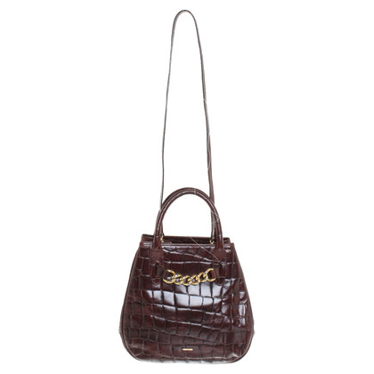 Emanuel Ungaro Handbag in dark brown