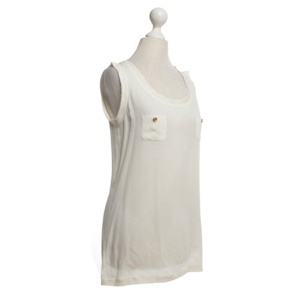 Dsquared2 Top in cream white