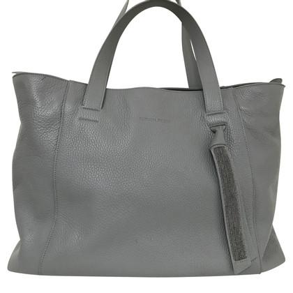 Fabiana Filippi Handbag in gray leather